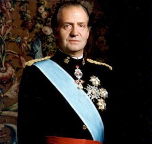 Proclamación de Juan Carlos I