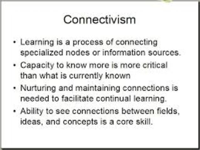 Konnektivista tanuláselmélet