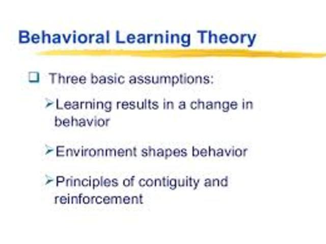Behaviorista tanuláselmélet