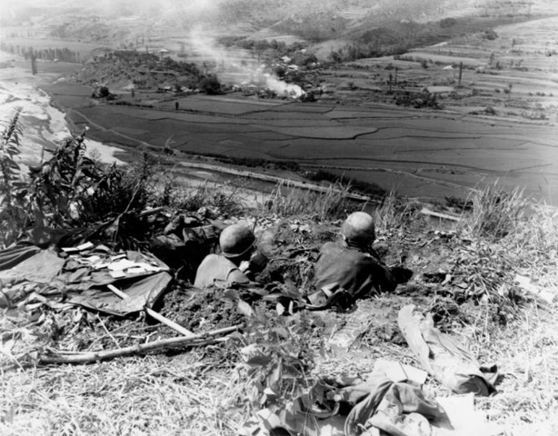 US Retreat to Pusan Perimeter