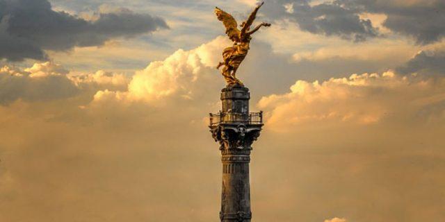 Inauguración del Angel de Independencia