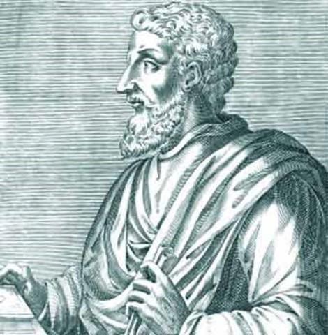 Roma: Escritura del De Lingua Latina