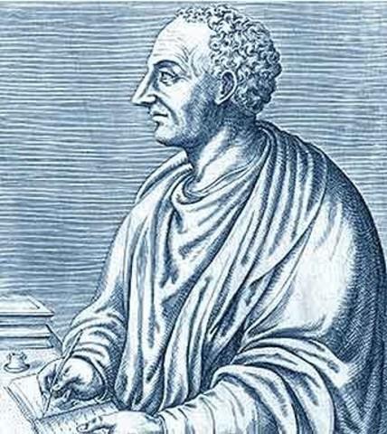Roma: Escritura del Institutio Oratoria