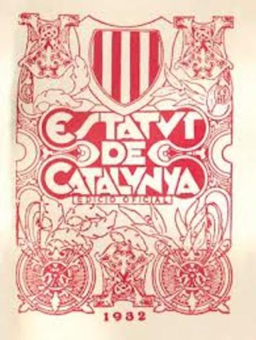 Estatut Autonomia de Catalunya