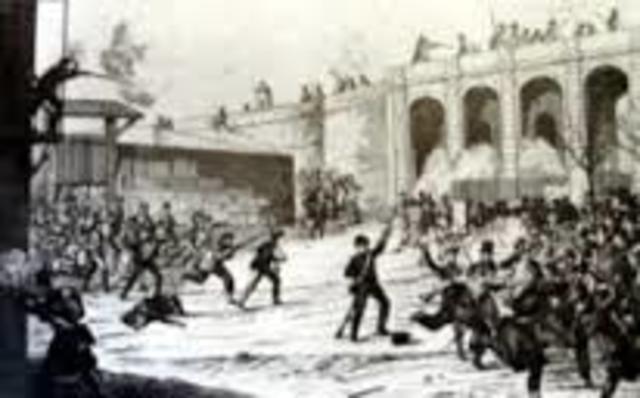 Bombardeig de Barcelona al 1842