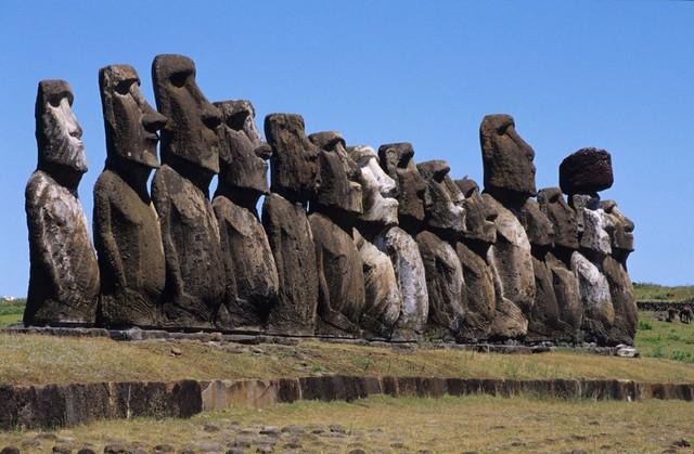 The Moai of Rapa Nui