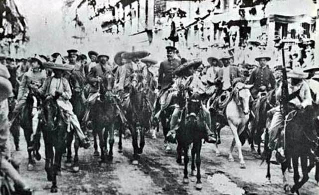 Mi bisabuelo en la Revolución Mexicana