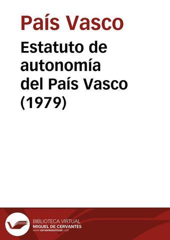 Estatuto de Autonomía Vasco
