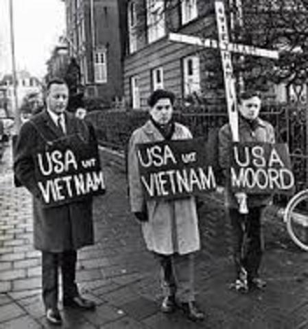 Protests Against Vietnam War