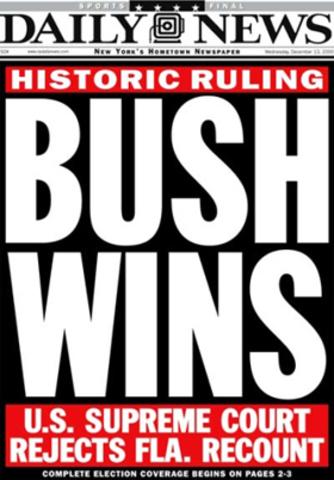 Bush vs Gore (SCOTUS)