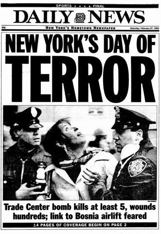 World Trade Center Attack- 1993