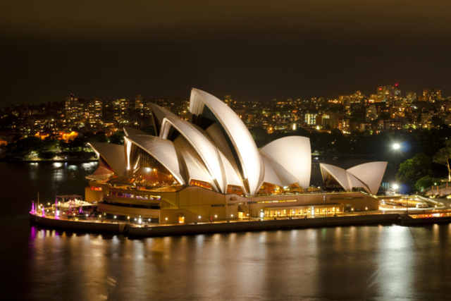 I went to Australia in school trip.
