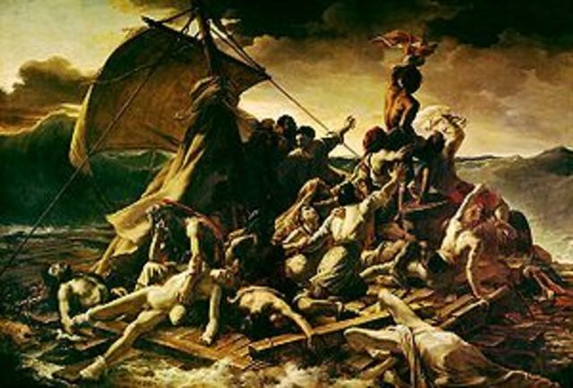 """The raft of the Medusa"" By Théodore Géricault"