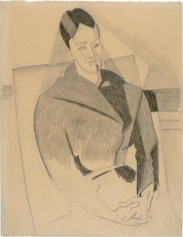 JUAN GRIS « Portrait de mme Cézanne»