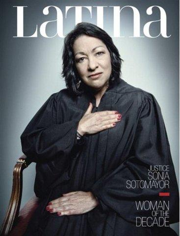 First Hispanic SCOTUS judge- Sonia Sotomayor