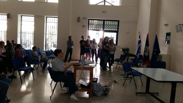 Παρουσίαση των Προγραμμάτων Περιβαλλοντικής Εκπαίδευσης στην εκδήλωση της Α' Αθήνας
