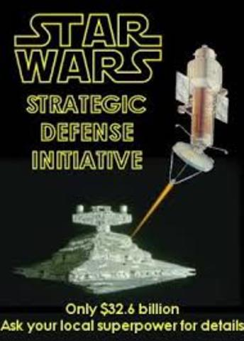 "Strategic Defense Initiative (SDI) ""Star Wars"""