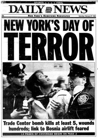 World Trade Center Attack 1993