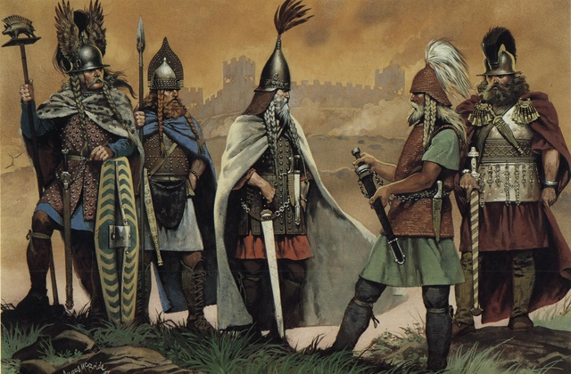 Celtic culture and tribal kingdoms start to emerge