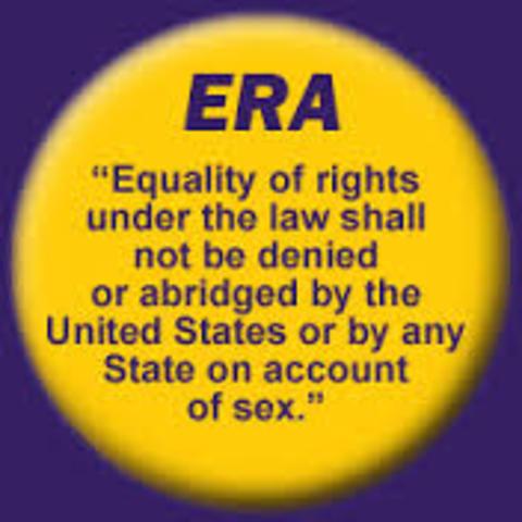Equal Rights Amendment (ERA)