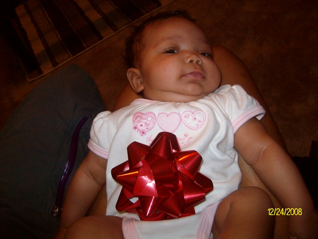 Madison's Very First Christmas!