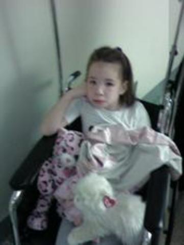 Her first surgery