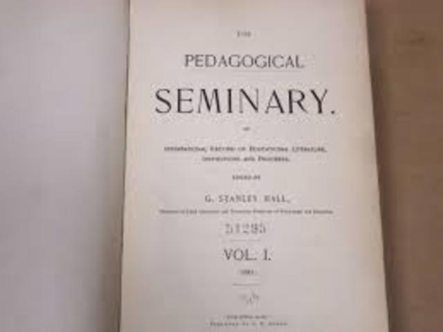 Revista Pedagogical Seminar