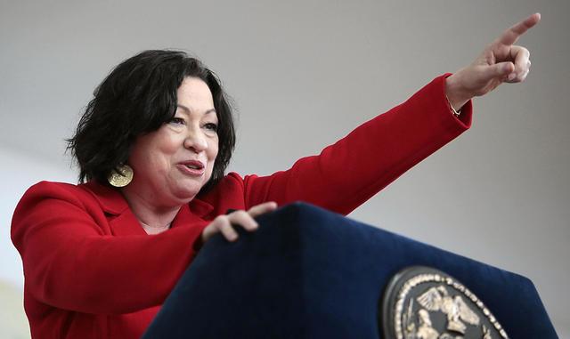 First Hispanic SCOTUS - Sonia Sotomayor