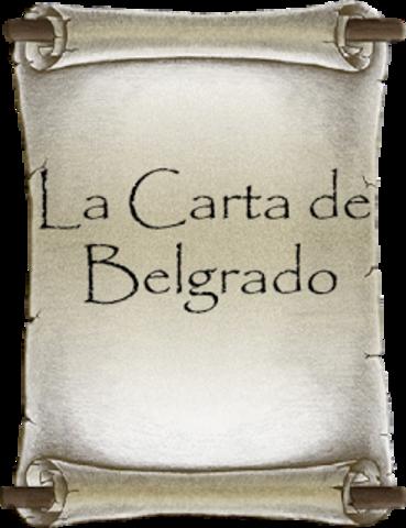 Carta de Belgrado en marco del Seminario Internacional de Educación Ambiental,