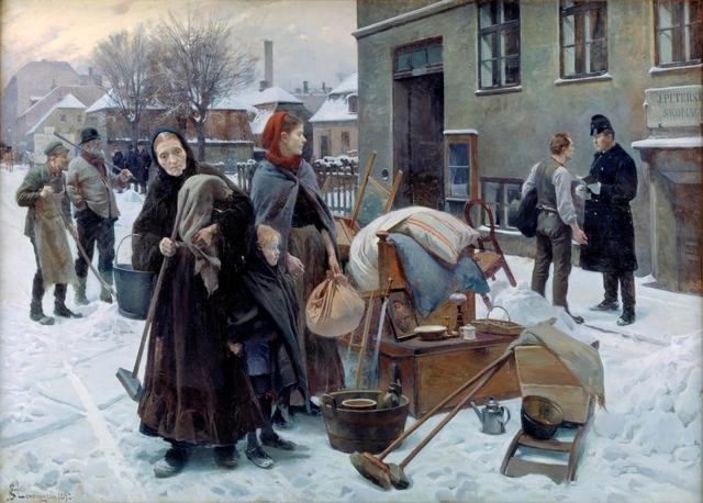 """""""Lønningsdag"""" af Martin Andersen Nexø"""