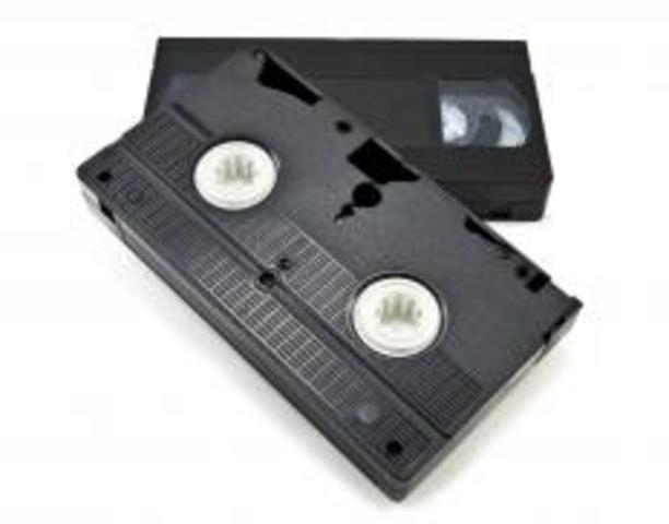 Video Home System (VHS) Introduced