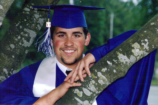 Austin graduated from Baker High School.