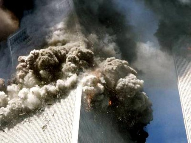 The TwinTower's were hit..8:48am...