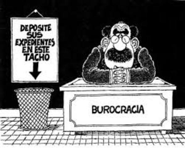 Diego G. López rosado y la burocracia