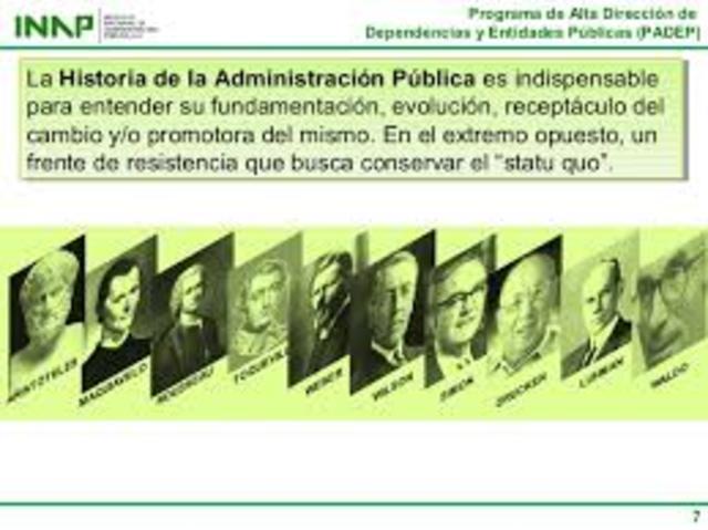José Castelazo: apuntes de teoría de la administración pública
