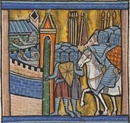 Capture of Nicaea in Asia Minor