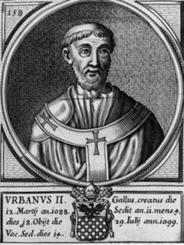 Urban II Becomes Pope