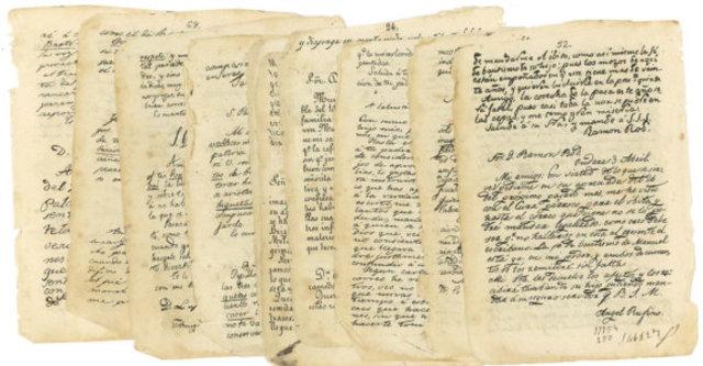 El manuscrito de Lucas alamán