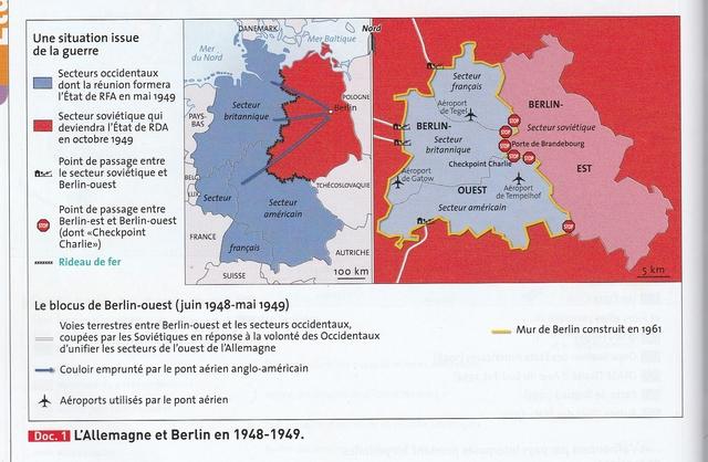 Début du blocus de Berlin
