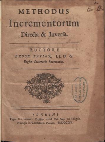 Methodus Incrementorum Directa et Inversa