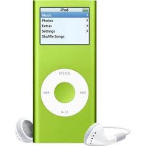 Reproductor portatil de musica y video digital Ipod nano