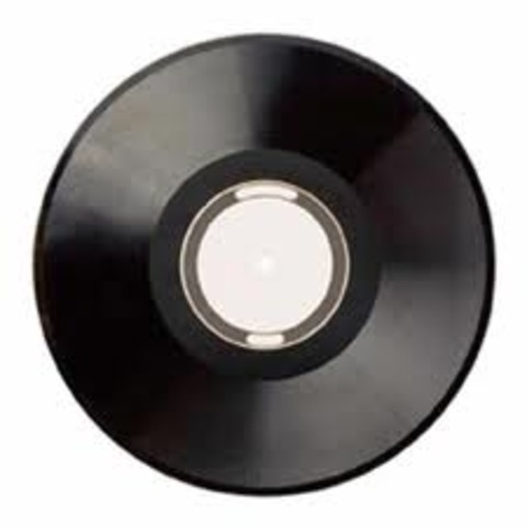 Equipo de musica de disco de vinilo