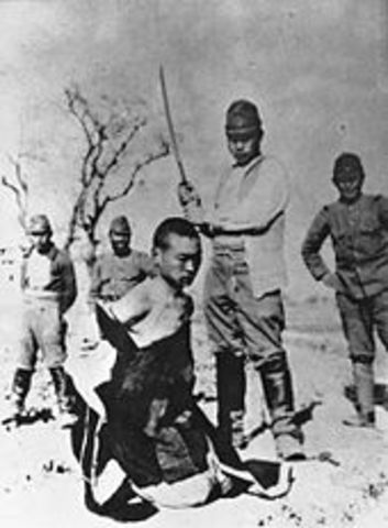 La capture de Shanghai et Nankin