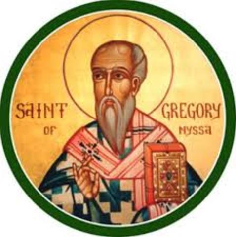 Gregorio de Nisa Fallecimiento