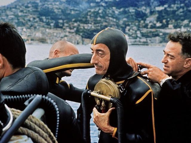 Jacques Cousteau Develops