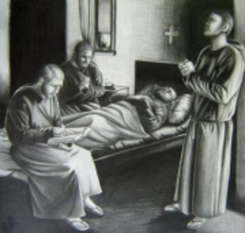 San Agustín Fallecimiento