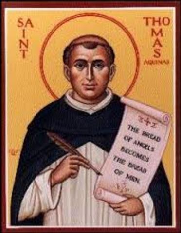 San Tomás de Aquino Fallecimiento