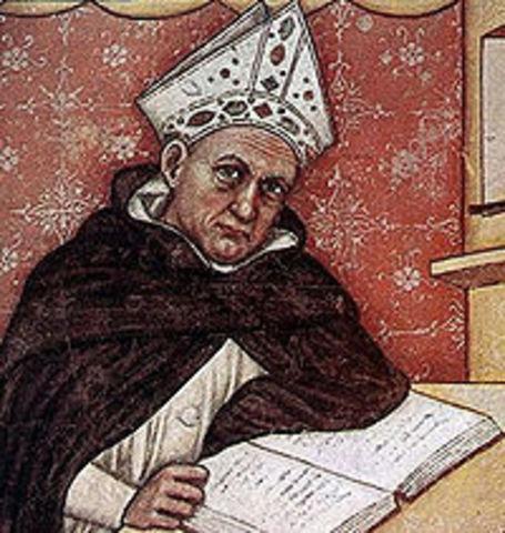 San Alberto Magno Fallecimiento