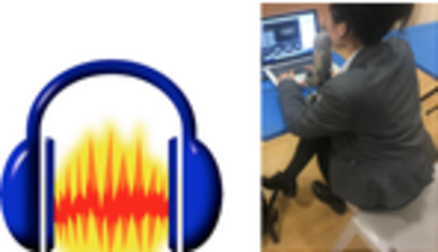 Equipment and software used in the construction of our Radio Advertisement