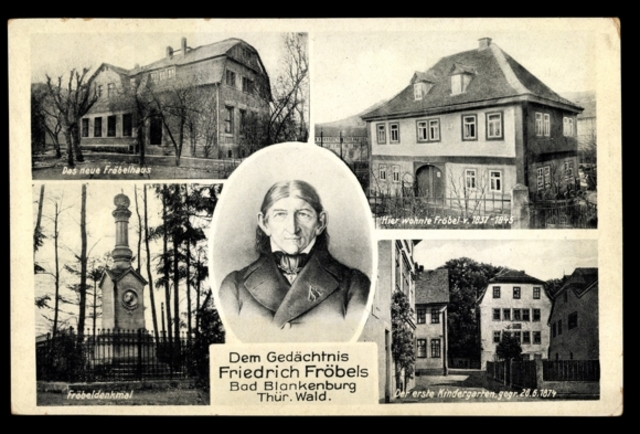 Фридрих Фрёбель придумал само название «детский сад».